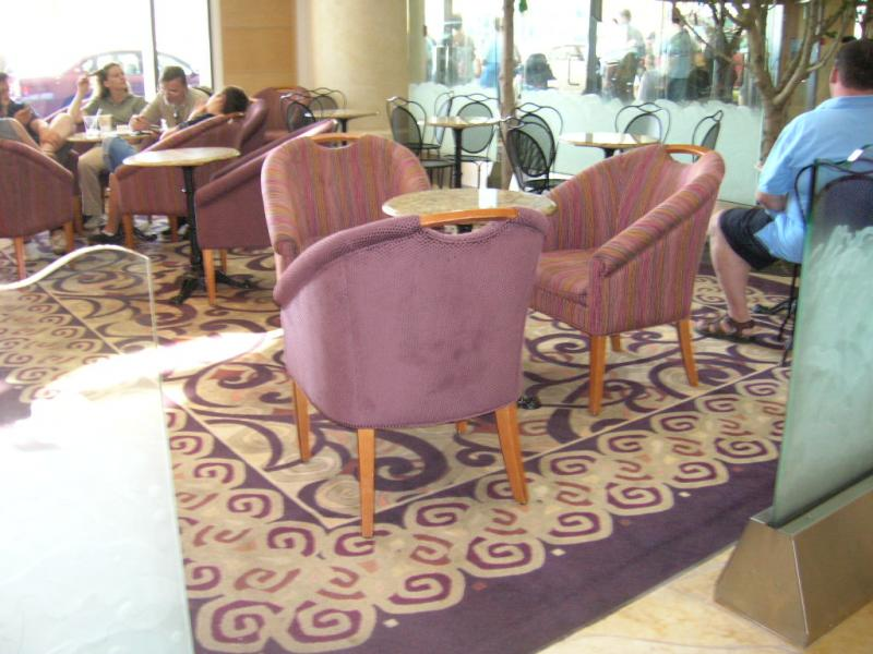 Hilton Cafe after the redesign.